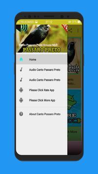 Canto Passaro Preto Grauna Mp3 screenshot 1