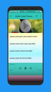 Canto Passaro Preto Grauna Mp3 screenshot 2