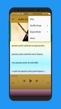 Canto Passaro Preto Grauna Mp3 screenshot 4