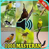 Kicau 1000 Burung Masteran Lengkap icon