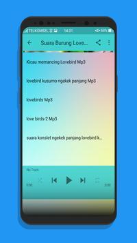 Kicau Burung Memancing LoveBird Mp3 screenshot 2