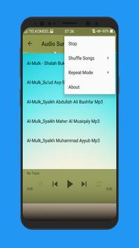 Surat Al Mulk Terlengkap Mp3 screenshot 5