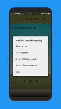 Surat Al Mulk Terlengkap Mp3 screenshot 6