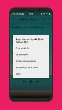 Surat Maryam dan Yusuf Lengkap Mp3 screenshot 6