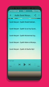 Surat Maryam dan Yusuf Lengkap Mp3 screenshot 2
