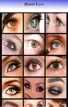 Hazel Eyes Makeup poster