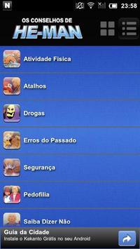 Os Conselhos de He-Man apk screenshot