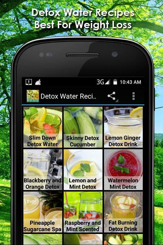 Detox Wasser Rezepte Fur Android Apk Herunterladen