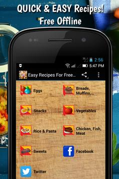 Easy recipes for free offline apk download free food drink app easy recipes for free offline apk screenshot forumfinder
