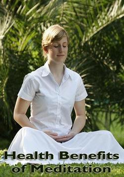Health Benefits of Meditation poster