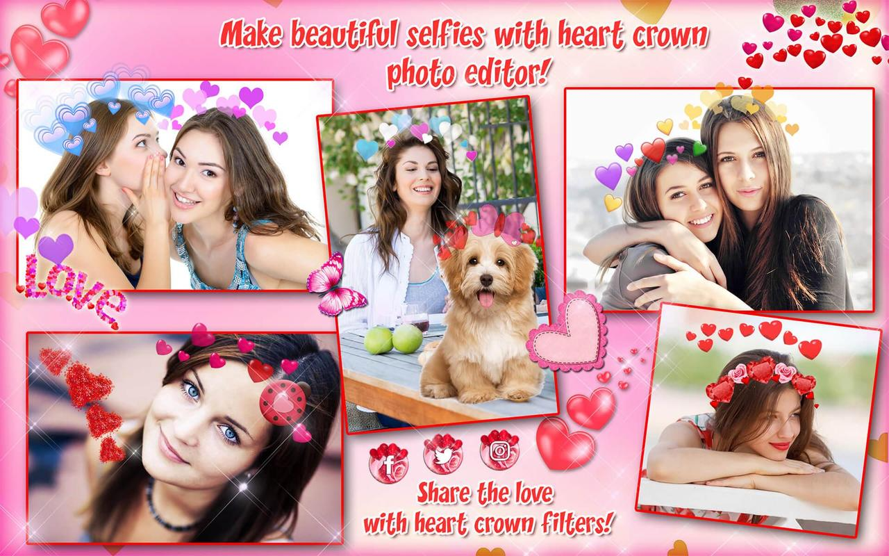 Heart Crown Photo Editor For Android Apk Download