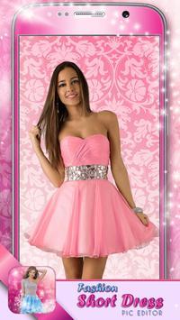 Fashion Short Dress Pic Editor poster