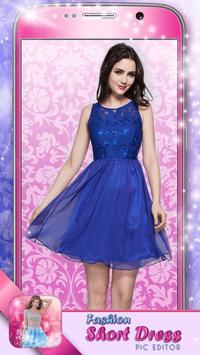Fashion Short Dress Pic Editor apk screenshot