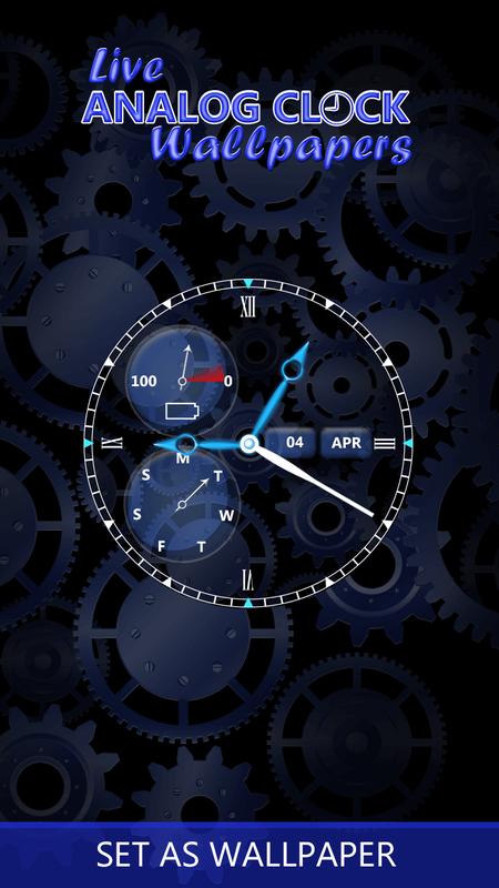 Android Için Saat Canlı Duvar Kağıtları Apkyı Indir