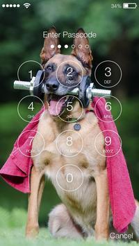Dog German Shepherd Puppy Wallpaper HD Sceen Lock screenshot 1