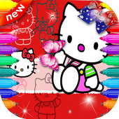 Coloring - for H.Kitty icon
