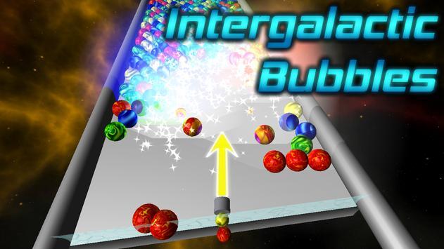 Intergalactic Bubbles poster