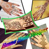 Henna Hand Design icon