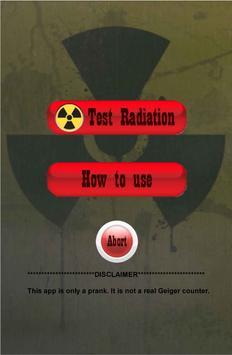 Geiger Counter (prank) poster