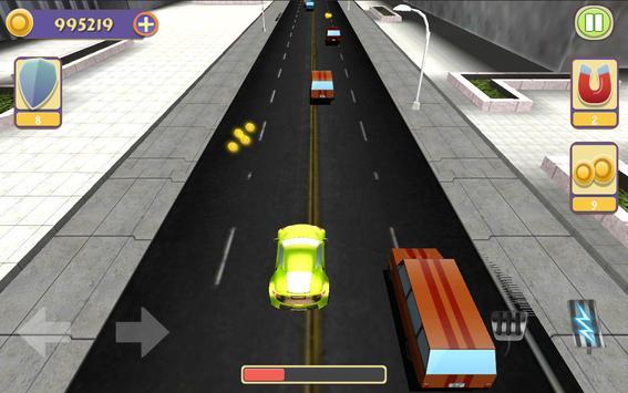 Traffic Car Racing poster