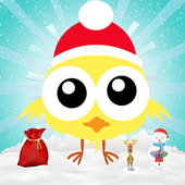 Fly Up Christmas Chick icon