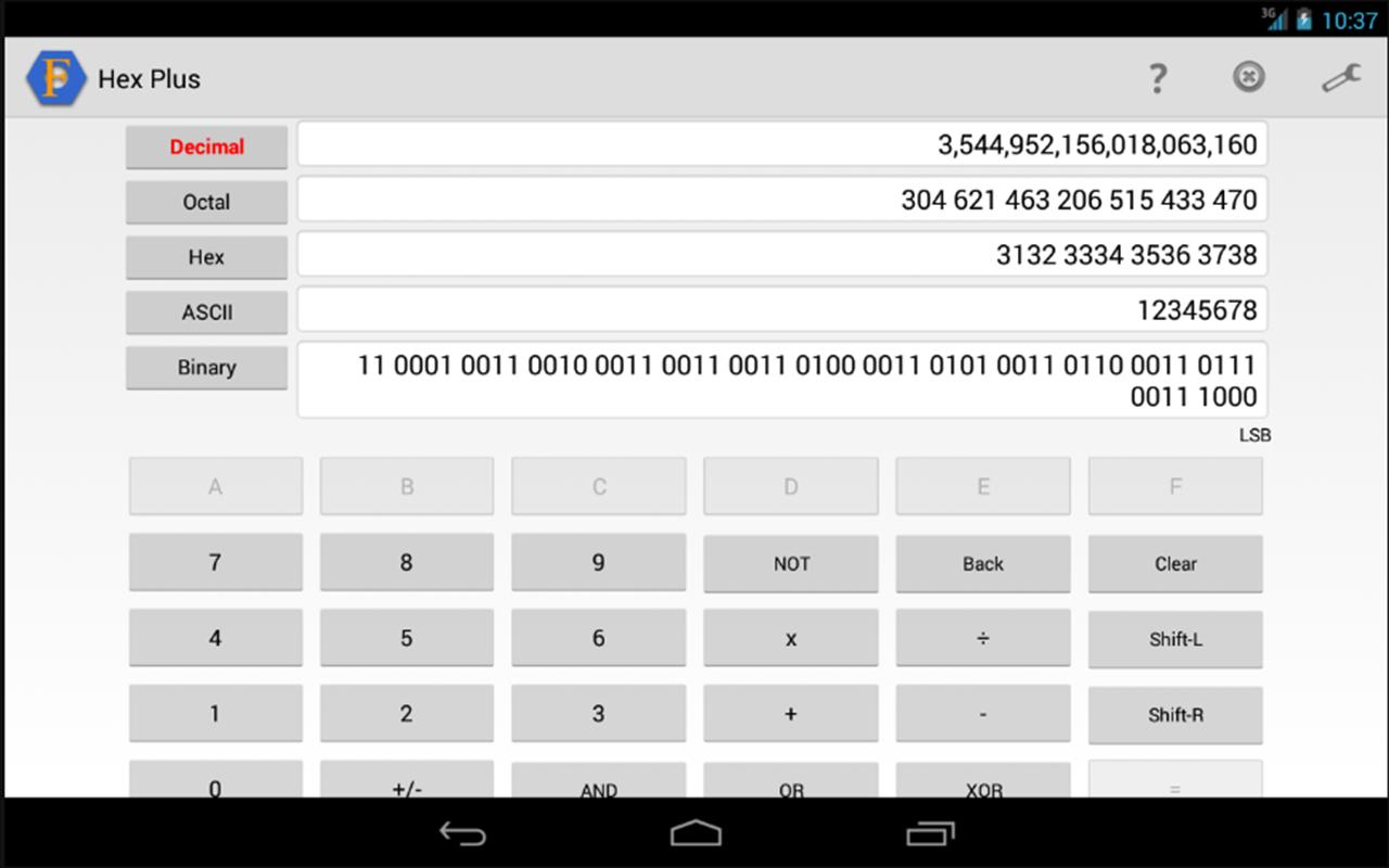 Hex Converter Plus for Android - APK Download