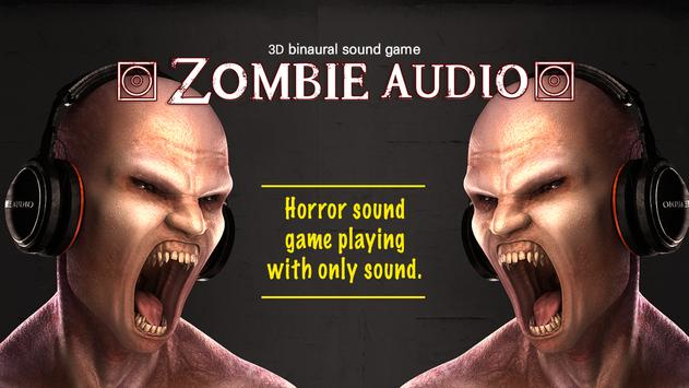 ZOMBIE AUDIO : VR Game English poster