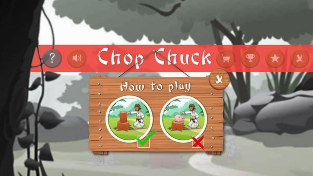 Chop Chuck apk screenshot