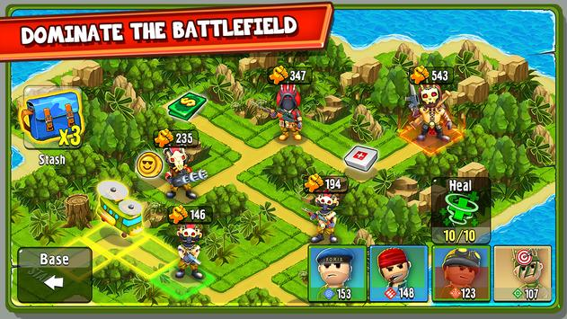 The Troopers: minions in arms apk screenshot