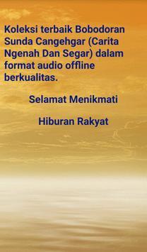 Bobodoran Sunda Cangehgar (Mp3 Audio Offline) apk screenshot