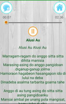 Lagu Batak Toba Terpopuler Mp3 (Lirik + Ringtone) apk screenshot