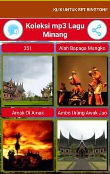 Koleksi Lagu Minang Terpopuler screenshot 2