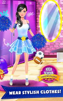 HighSchool Cheerleader Dressup apk screenshot