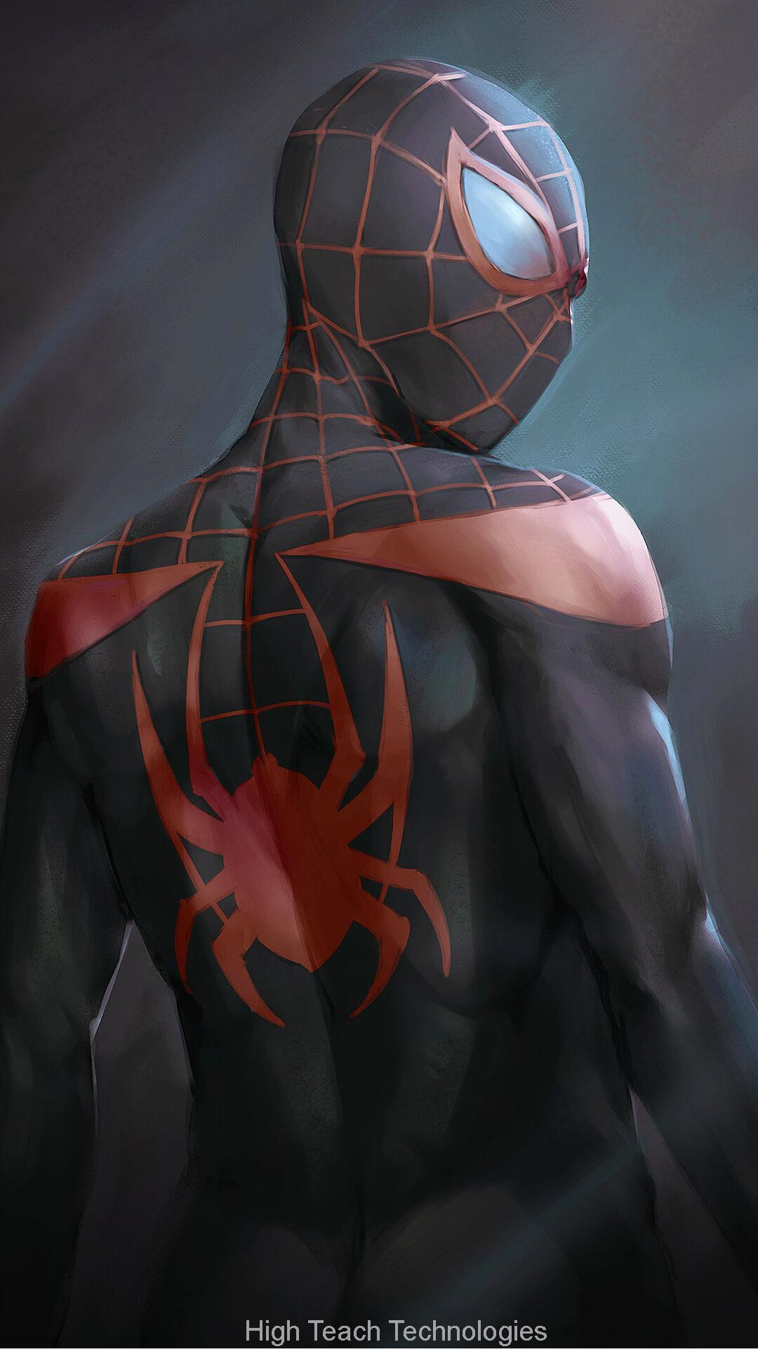 Spiderman Into The Spider Verse Live Wallpaper For Android Apk