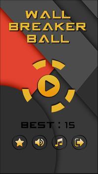 Wall Breaker Ball poster