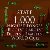 Highest, Longest, Biggest, Smallest in world icon
