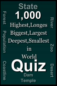 Highest, Longest, Biggest, Smallest in world poster