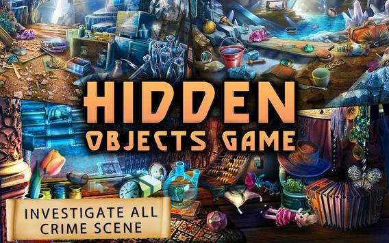 CBI Crime Case : Hidden Objects Game 100 Level screenshot 1