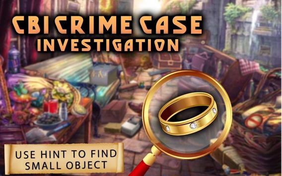 CBI Crime Case : Hidden Objects Game 100 Level screenshot 2