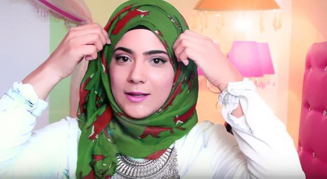 ربطات الحجاب شرح بالفيديو poster