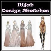 Hijab Design Sketches icon