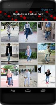 Hijab Jeans Fashion New poster