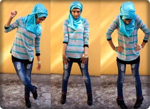 Hijab Jeans Fashion New apk screenshot