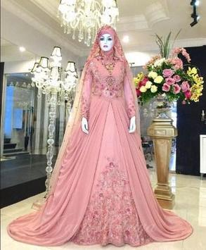 Hijab Modern Wedding Dress poster