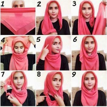 Hijab Segi Empat Simpel Remaja apk screenshot