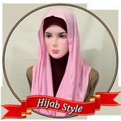 Modern Style Head Scarf icon