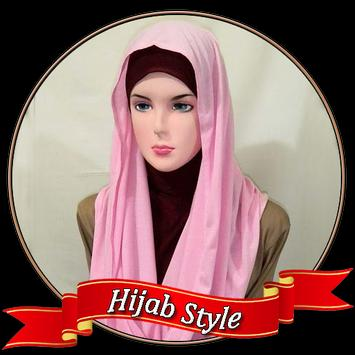 Modern Style Head Scarf poster