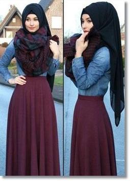 Hijab Style Fashion poster