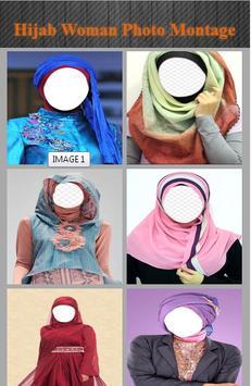 Hijab Woman Photo Montage screenshot 1