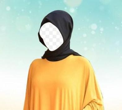 Hijab Woman Photo Montage screenshot 4